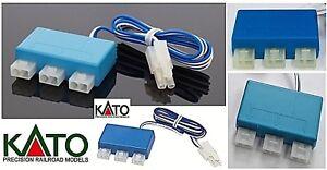 KATO 24-827 Tripler Splitter Power For Tracks 3 Way Scale N Ho Z