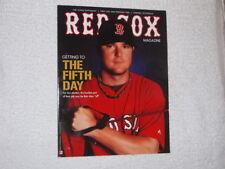 July 2011 Official Fenway Park Boston Red Sox Program Magazine Jon Lester FREESP
