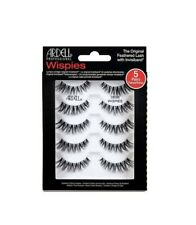 Ardell Feathered Eyelash Demi Wispies with Invisiband (Black - 5 Pair)