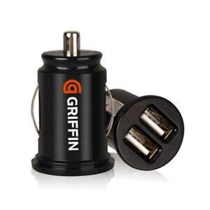 Car Charger Mini Dual-USB 12v Lighter Socket Adapter Fast Plug Charging USB HOT