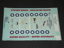 Superscale Decals 72691 1/72 - B-25D Mitchell 345th BG Jelly Belly Lucky Bat etc
