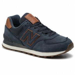 New Balance ml574nbd Scarpa sport sneaker dark blue navy
