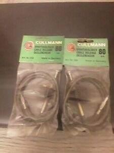 Lot de 2 Cables déclencheurs  Cullmann 80 cm