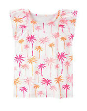 NEW Gymboree Toddler Girls Size 4 years Palm Trees Cotton Top T-Shirt