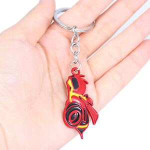 Black/Silver/Red Rumble Bee Car Key Ring Keychain for Ram 1500 2500 3500 4500
