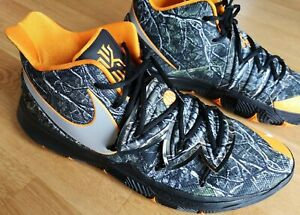 Basketballschuhe Nike KYRIE 5, schwarz/orange, Größe EU52 1/2 US18, Ausstellung