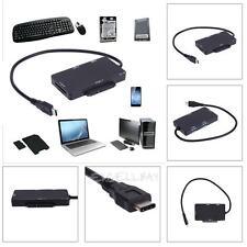 USB 3.1 Type-C HUB TF SD Card 2 Port USB 3.0 Reader USB-C To SATA SSD Adapter
