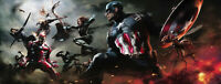 Marvel Fine Art War Winds Giclee on Canvas Signed by Stan Lee