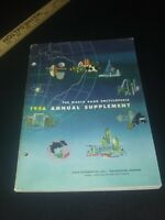 World Book Encyclopedia 1956 Annual Supplement Events Illustrated Softcover Book