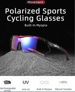 ROCKBROS Polarized Sports Men Sunglasses Road Cycling Glasses Mountain