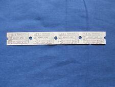 Vintage $2.00 S.E.E Theatres Tickets (Strip of 4) Drive-In Movie/Cinema - VA