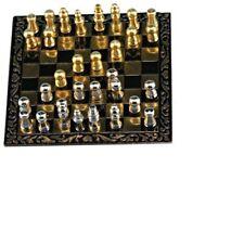 Dollhouse Miniatures 1:12 Scale Chess Set #IM65235