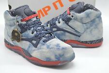 New Reebok Pump AXT x Social Status DENIM Cherry/Black/Grey Rare Retro Omni 9.5