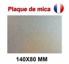Plaque de Mica  à découper Pour Four Micro-Ondes Universelle 140X80 mm France