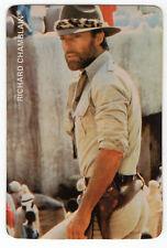 1987 Portugese Pocket Calendar US Dr Kildare Actore Richard Chamberlain