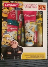 new Colgate Funtastic value pack despicable ME3 tooth brush paste gift set box .