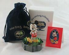 "Arribas Bros/Swarovski Crystal ""Jeweled Mickey Mouse"" Figurine with Base"
