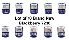 [Lot Of 10] Brand New Blackberry 7230 Rare Collectible Pda Device! Rim First Pda