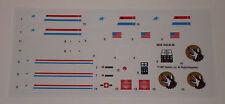 GI Joe Mean Dog Artillery Vehicle Sticker Decal Sheet