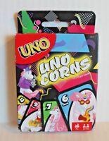 Uno Uno-Corns Unicorn Card Game Ages 7+ NEW