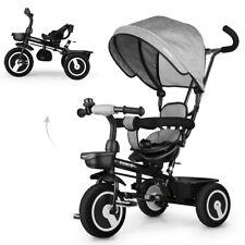 Fascol Kinderkraft Dreirad 6in1 Kinderdreirad Jogger mit Zubehör Klappbar DHL