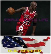 Custom 1/6 Michael Jordan Red Chicago Bulls Jersey 23 for Enterbay Body ❶USA❶