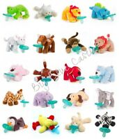 WubbaNub Infant Newborn Baby Soothie Pacifier ~ from an Authorized Retailer