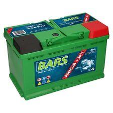 Starterbatterie BARS PREMIUM 12V 85 Ah Autobatterie TOP Angebot geladen NEU