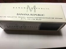 New Banana Republic Men's M 15 ML 0.5 OZ EDT COLOGNE SPRAY TRAVEL SIZE