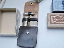 APOLLO SOLINGEN Vintage Metall Reise Rasierer DE Safety Travel Razor 1950s!