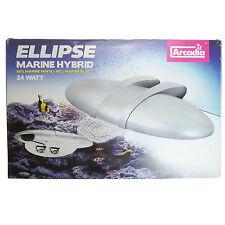 Arcadia Ellipse Leuchte AR324XM Marine Hybrid Aquarium Lampe 24W Meerwasser