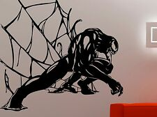 Venom Wall Sticker Comics Superhero Vinyl Decal Kids Dorm Room Bedroom Decor 7vz