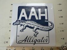 STICKER,DECAL AAH ALLIGATOR  BIG SIZE ABOUT 30 * 32 CM