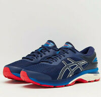 ASICS 1011A019.400 GEL-KAYANO® 25 Mens 9 (M) Indigo-Blue Mesh Running Shoes
