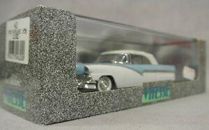 RARE VITESSE FORD FAIRLANE 1956 CLOSED TOP, 462, BLUE/WHITE, 1:43 SCALE, BOXED.