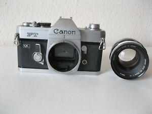 Canon FT mit Lens FL 1,4/50