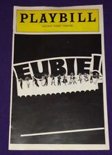 Playbill EUBIE! Walnut Street Theatre Phila. PA 1978 Ethel Beatty Gregory Hines