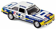 Peugeot 504 Coupé Lacs du Bandama 1976 Makinen Liddon #21 - 1:87 Norev