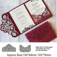 DIY Lace Metal Cutting Dies Stencils Embossing Scrapbooking Paper Cards Album