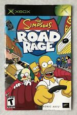 Simpsons Road Rage (Microsoft Xbox, 2001) - MANUAL ONLY
