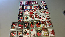 David Rundblad 72 card lot Jersey/autos/serial #'ed/swedish Ott/Phx/Chi
