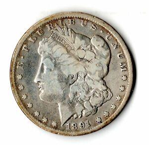 United States Silver Dollar 1891-CC