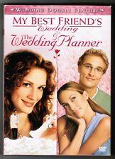 WEDDING DOUBLE FEATURE: My Best Friend's Wedding / Wedding Planner [2 DVDs 2006]
