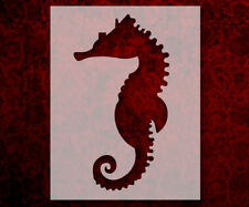"""Large Seahorse 8.5"""" x 11"""" Stencil FAST FREE SHIPPING (519)"""