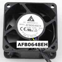 DELTA AFB0648EH Double ball PWM speed control fan DC48V 0.16A 60*60*25mm 4pin