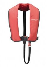 Waveline ISO Approved 165N Adult Manual Lifejacket in RED. New from Stock
