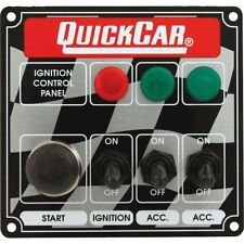 Quickcar Racing Products 50-025 Dash Mount Switch Panel 4-5/8 in x 4-3/8 in