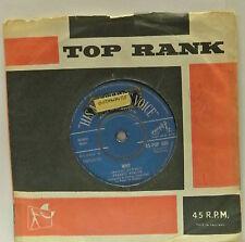 "7"" VINYL SINGLE. Why b/w Swinging On A Rainbow by Frankie Avalon. 45-POP 688 HMV"