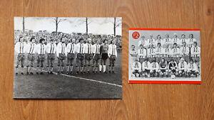 Postkarte/Foto - Rot Weiss Essen 1970er Aufstiegsrunde