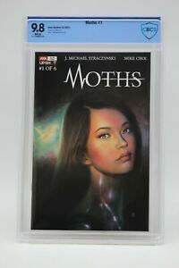 Moths (2021) #1 Mike Choi Cover A CBCS 9.8 Blue Label White Pages Straczynski